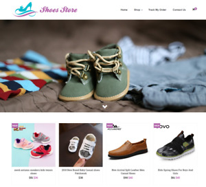 Shoes Store Turnkey Website Business For Sale Profitable Dropshipping