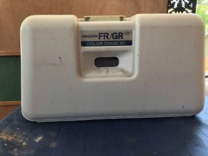 Risograph Gr Series Riso Black Color Drum 3770 w Ink Drum W Case Untested