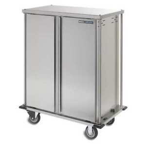 Food Tray Cart double Door 16 Trays Carlisle Dinex Dxtq1t2d16
