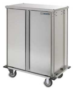 Food Tray Cart double Door 10 Trays Carlisle Dinex Dxtq1t2d10