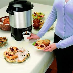 New Hamilton Beach Coffee Large Coffee Machine Maker Commercial Office Home