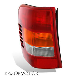 1999 2004 Replacement Driver Side Tail Light Housing For Jeep Grand Cherokee