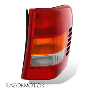 1999 2004 Replacement Passenger Side Tail Light Housing For Jeep Grand Cherokee