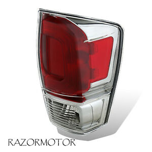 2016 2017 Replacement Passenger Tail Light For Toyota Tacoma W Bulb Socket