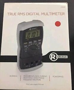 Radio Shack True Rms Digital Multimeter 2200087