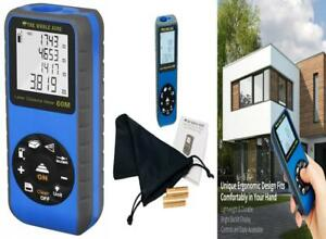 The Whole Acre Laser Measure Compact And Accurate Distance Meter With 196