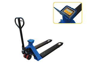 Pake Handling Tools Scale Pallet Truck 4400 pound Capacity 45 X 27