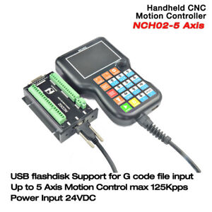 Digital Dream 5 Axis Cnc Handheld Motion Controller 125khz For Plasma router