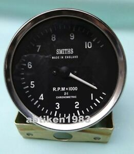 100 Mm Smiths Replica Tachometer Clockwise Mechanical M18x1 5 Thread