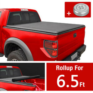 Jdmspeed Roll Up Tonneau Cover For 2007 2013 Chevy Silverado Gmc Sierra 6 5 Bed
