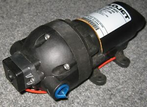 Flojet On Demand Water Pump 12 V Dc 60 Psi 1 35 Gpm Rvs Boats Washdown