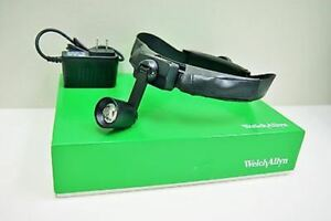 Welch Allyn Solid State Portable Headlight With Rigid Band Power Source 46070r