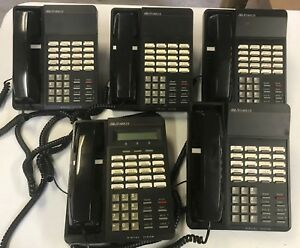 Vodavi Starplus Dhs Sp 7312 71 Lot Of 5 Pre owned Phone Telephone Desk