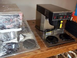 Newco Ace lp Automatic Coffee Brewer W Hot Water Faucet 3 Lower Warmers