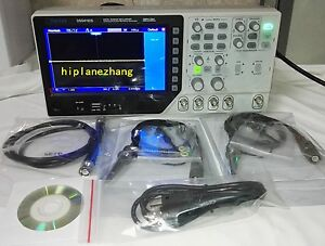 2ch 100mhz 1gs s Oscilloscope Arbitrary Function Signal Generator 25mhz Usb 2in1