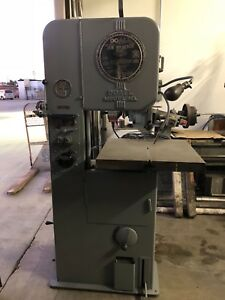 Doall 16 Vertical Band Saw Cabinet