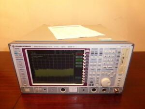Rohde Schwarz Fseb 20 9khz To 7ghz Spectrum Analyzer W Opt B4 Calibrated