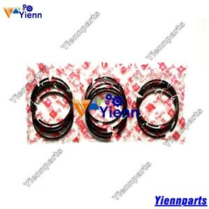 3tnb82 Piston Ring Set For Yanmar Engine Fx215m Fx215 Ff225d F215 Tractor Repair