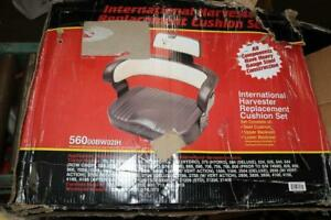 International Harvester Replacement Cushion Seat Black And White 56000bw02ih