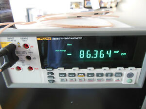 Digital Bench Multimeter Fluke 8808a 120v