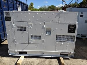 Used 60 Kw Diesel Generator John Deere Low Hours 120 208 240 416 Volts