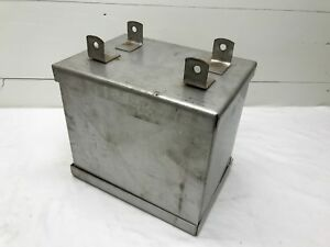 Vintage Farmall International Tractor Battery Box Stainless Steel New