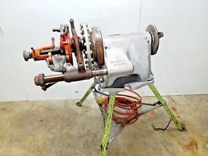 Ridgid 300 Pipe Threading Machine W Tristand And Complete Carriage 1 4 2
