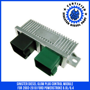 Sinister Diesel Glow Plug Control Module For 2003 2010 Ford Powerstroke 6 0l 6 4