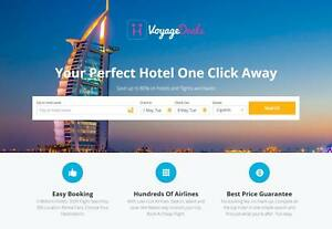 Established Profitable Turnkey Travel Booking Website Business For Sale