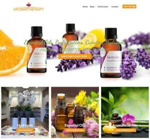 Aroma Therapy Website Business Earn 275 A Sale Free Domain free Hosting