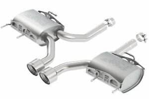 Borla Axle back Exhaust S type For 11 15 Cadillac Cts v Coupe 6 2l Rwd 11823