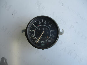 Vintage Volkswagen Beetle 113957023n Speedometer Gauge as Is