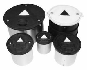 New Emco Wheaton 567150 Lid Ductile White For 8 Monitor Well Mh Bolt Down 8