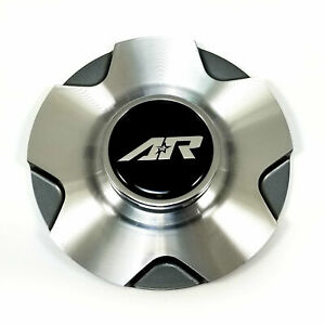 American Racing Machined Gray Wheel Center Hub Cap 4 5lug Ar895