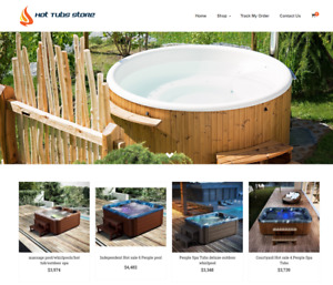 Established Hot Tubs Turnkey Website Business For Sale Profitable Dropshipping