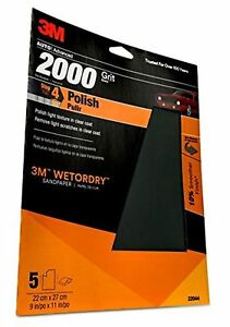 32044 Imperial Wetordry 9 X 11 2000 Grit Sheet