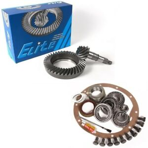 1965 1971 Gm 8 2 Chevy 10 Bolt Rear 3 55 Ring And Pinion Master Elite Gear Pkg
