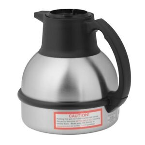 64 Oz Stainless Steel Thermal Carafe With Vacuum Insulation For Hot Coffee