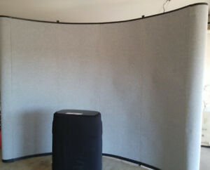 Display Booth With Case podium New Cost 1100