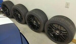 Forgestar F14 Wheels And Michelin Tires mustang