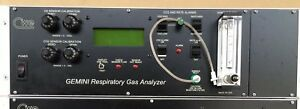 Cwe Gemini Respiratory Gas Analyzer Used In Good Working Condition