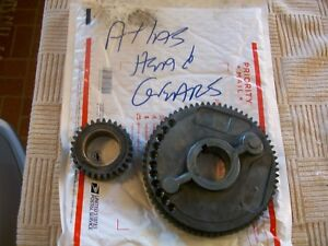 Headstock Alloy Back Gears 10 241 10 242 From Vintage Atlas 10 Metal Lathe