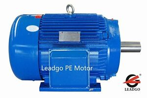 100 Hp Electric Motor 1800 Rpm 405t Tefc Severe Duty 230 460