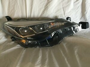 2016 18 Toyota Corolla Dual Projector Led Headlight B 3 5