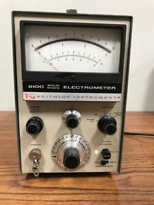 Keithley Instruments 610c Solid State Electrometer