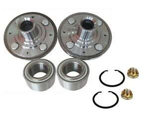 2 Front Wheel Hub Bearing Kits 1998 2002 Honda Accord 2 3l Only With Nut Clip