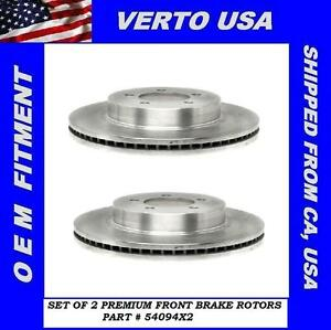 Front Brake Rotors For Ford Explorer 2002 2005 Mountaineer Mercury 2002 2005