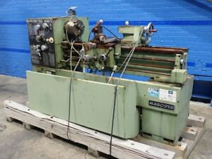 Nardini Mascote Ms 1440e Gap Bed Lathe 14 X 40 08180290003