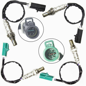 Upstream Downstream 4 Oxygen 02 Sensors For Ford F 150 2004 2005 2006 2007 2008
