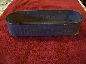 Vintage John Deere Horse Drawn Implement Tool Box Nice Box